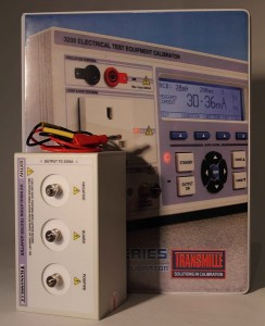Laboratorium wzorcujące - przystawka EXTHV do kalibratora Transmille 3200A
