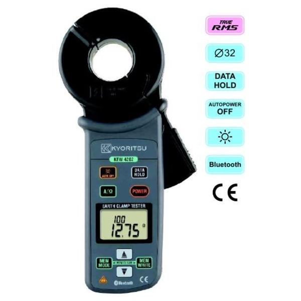 KEW4202 Kyoritsu cęgowy miernik rezystancji uziemienia