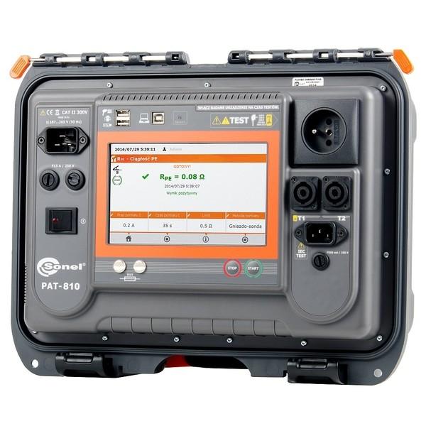 PAT-810 Sonel miernik bezpieczeństwa sprzętu elektrycznego