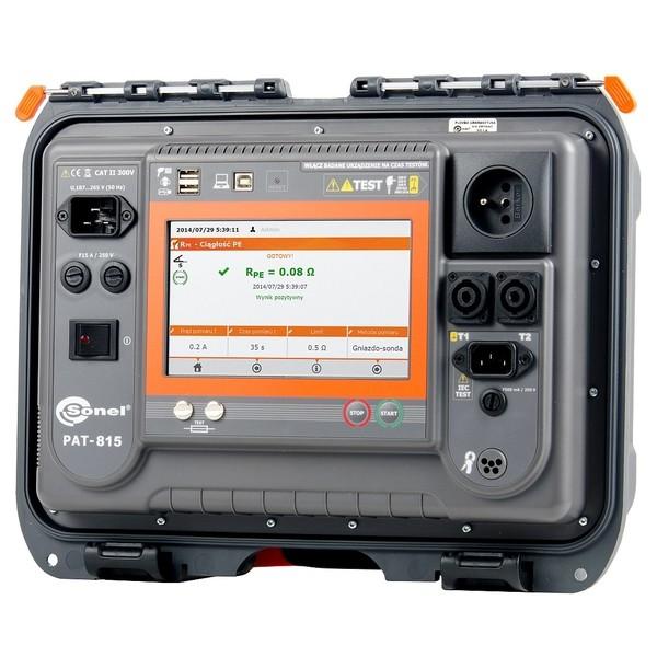 PAT-815 Sonel miernik bezpieczeństwa sprzętu elektrycznego