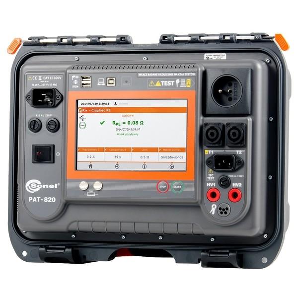 PAT-820 Sonel miernik bezpieczeństwa sprzętu elektrycznego