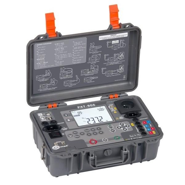 PAT-806 Sonel miernik bezpieczeństwa sprzętu elektrycznego i urządzeń spawalniczych