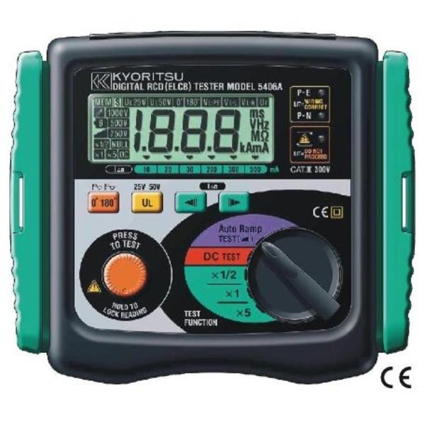 KEW5406A Kyoritsu miernik wyłączników RCD