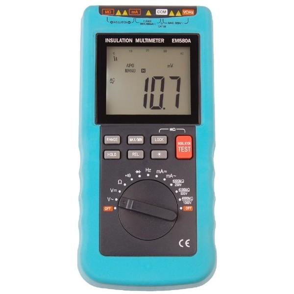 EM580A EnergyLab multimetr z pomiarem rezystancji izolacji