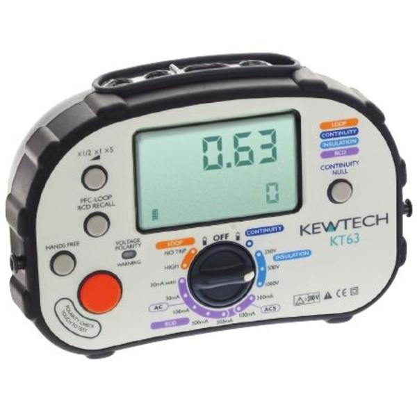KT63 Kewtech wielofunkcyjny miernik instalacji elektrycznych