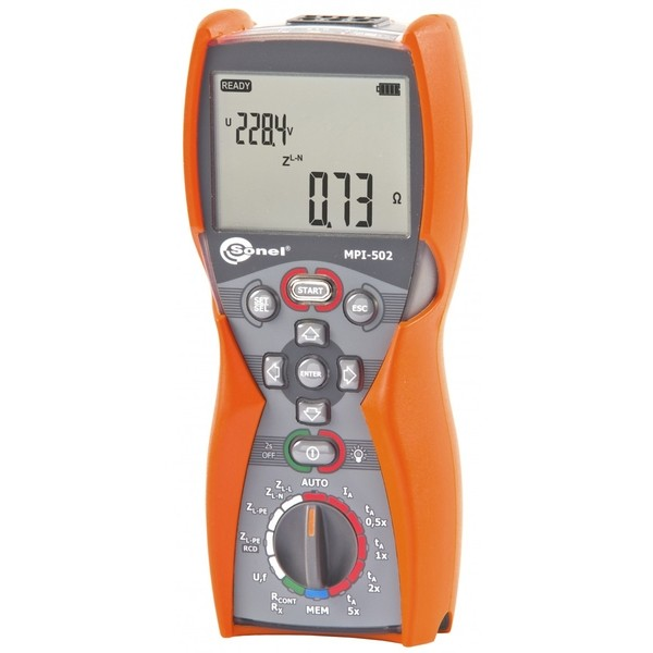 MPI-502 Sonel wielofunkcyjny miernik instalacji elektrycznych
