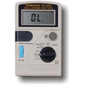 Wzorcowanie TM508A Tenmars miliomomierza