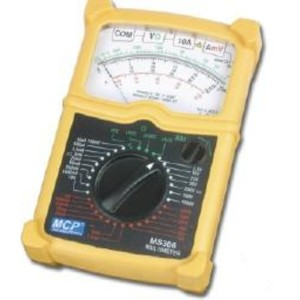 Multimetry analogowe - MS306 MCP multimetr analogowy