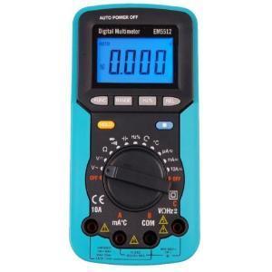 Wzorcowanie multimetrów - EM5512 EnergyLab multimetr cyfrowy z testerem kolejności faz