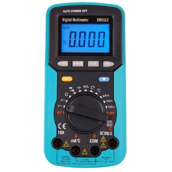 EM5512 EnergyLab multimetr cyfrowy z testerem kolejności faz