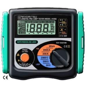 Wzorcowanie KEW4118A Kyoritsu miernika impedancji pętli zwarcia