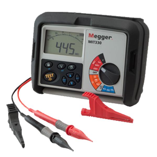 MIT330 Megger miernik rezystancji izolacji i ciągłości
