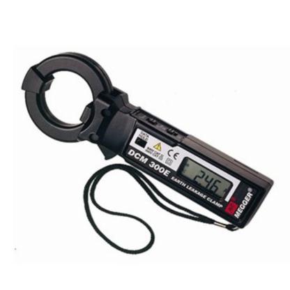 DCM300E Megger miernik cęgowy prądu upływu 0.1mA-300A