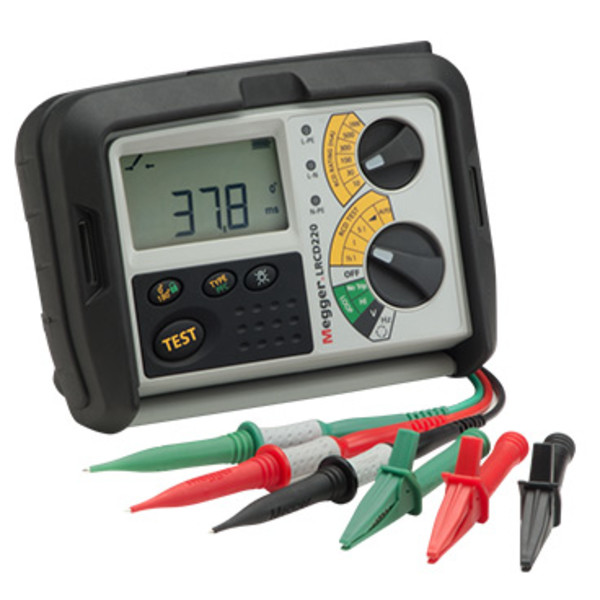 Miernik impedancji pętli i wyłączników RCD LRCD220 Megger