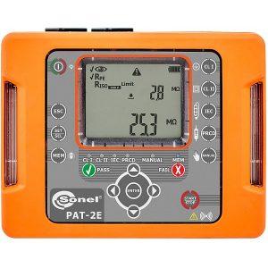 Wzorcowanie PAT-2E miernika bezpieczeństwa sprzętu elektrycznego Sonel