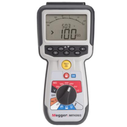 MIT430/2 miernik rezystancji izolacji Megger