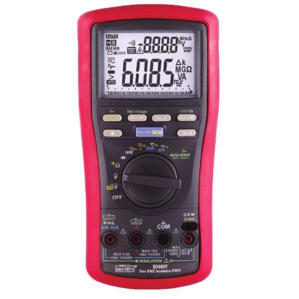 BM885 multimetr cyfrowy z pomiarem rezystancji izolacji Brymen