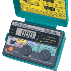 Wzorcowanie KEW6010A wielofunkcyjnego miernika instalacji elektrycznych Kyoritsu