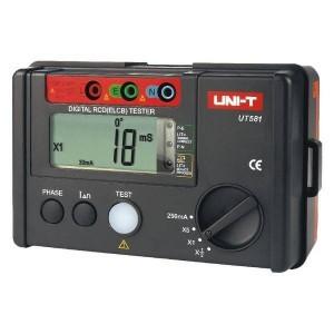 Wzorcowanie UT581 miernika wyłączników RCD