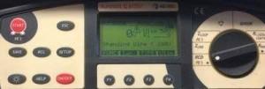 Wzorcowanie Eurotest Q61557 Metrel wielofunkcyjnego miernika instalacji elektrycznej
