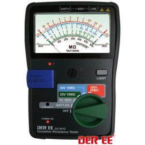 DE-5012 analogowy miernik rezystancji izolacji, DER EE
