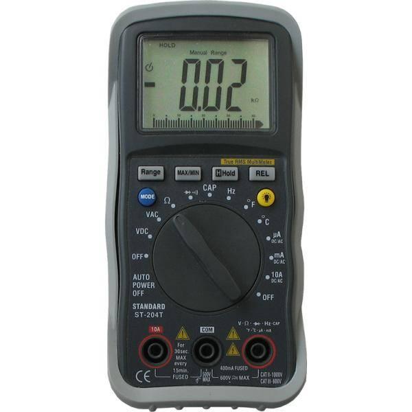 ST-204T multimetr cyfrowy Standard Instruments