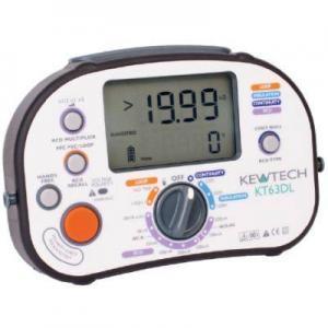 Wzorcowanie KT63DL wielofunkcyjnego miernika instalacji elektrycznej Kewtech